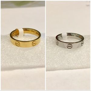 Jewelry - Bundle for 2 rings silver and gold color